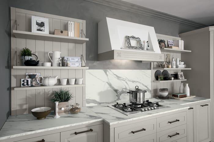 Colombini Casa Cucina Classica Mida cappa in stile classico 12a
