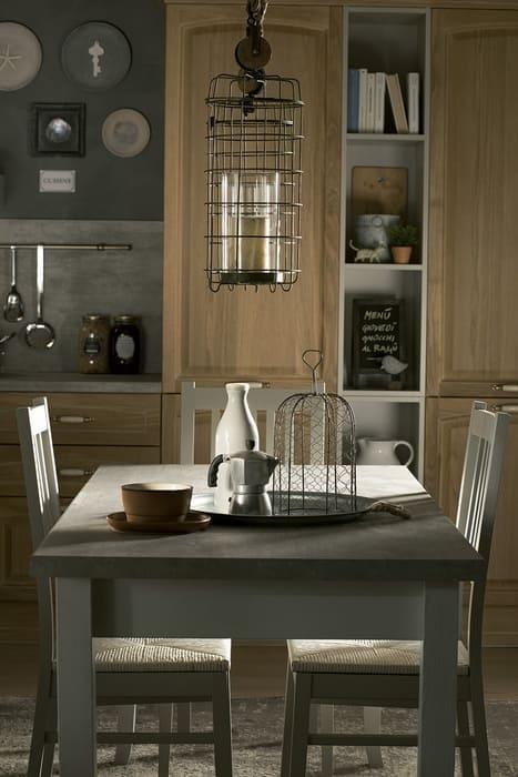 Colombini Casa Cucina Classica Mida coordinata con tavolo 120b