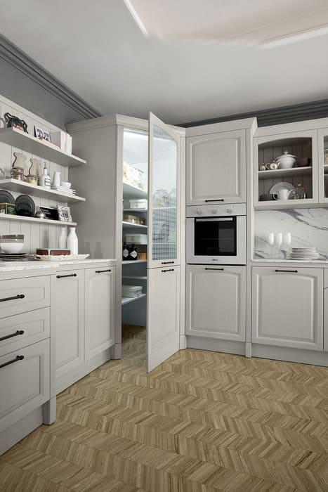 Colombini Casa Cucina Classica Mida dispensa ad angolo 15