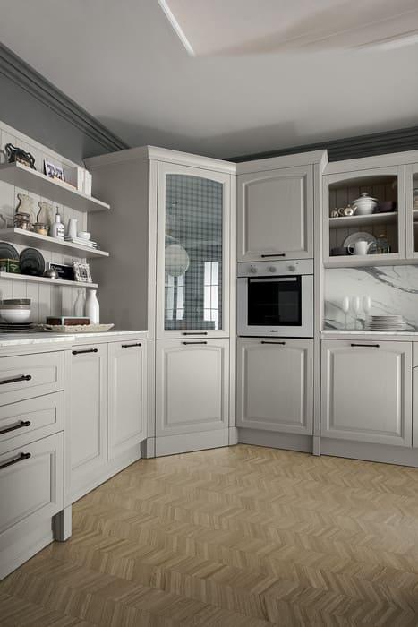 Colombini Casa Cucina Classica Mida dispensa grande ad angolo 14c