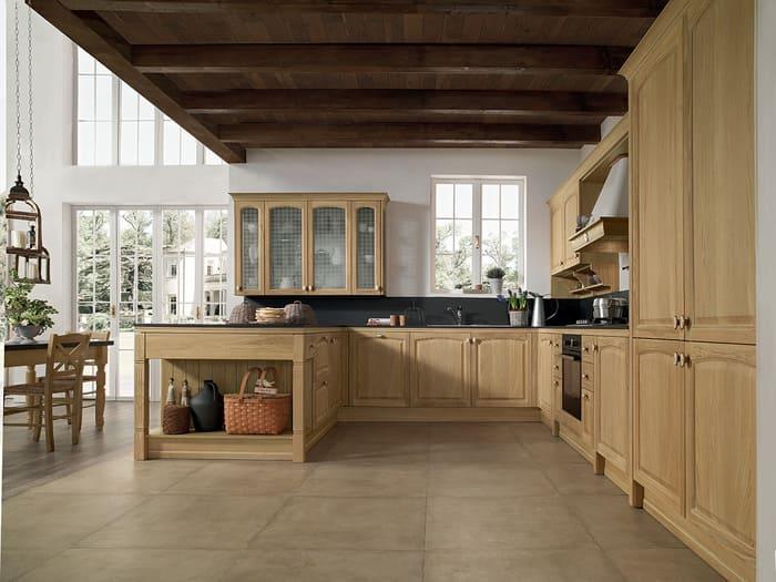 Colombini Casa Cucina Classica Mida isola con colonne 92