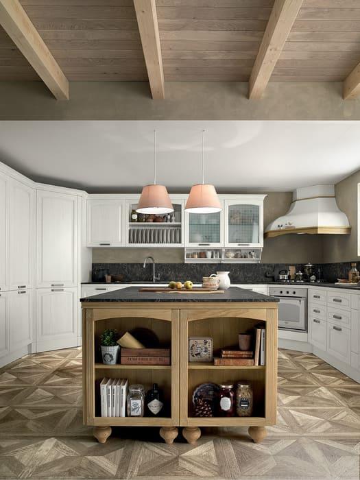 Colombini Casa Cucina Classica Mida isola in stile tradizionale 65
