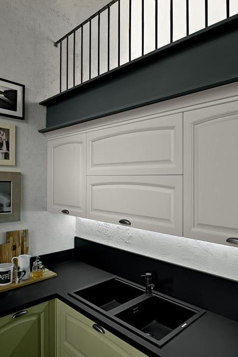 Colombini Casa Cucina Classica Mida lavello nero 107a