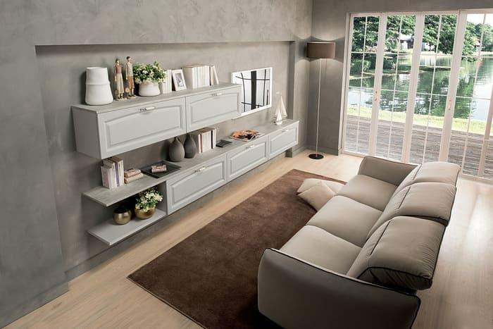 Colombini Casa Cucina Classica Mida mobile living coordinato 122