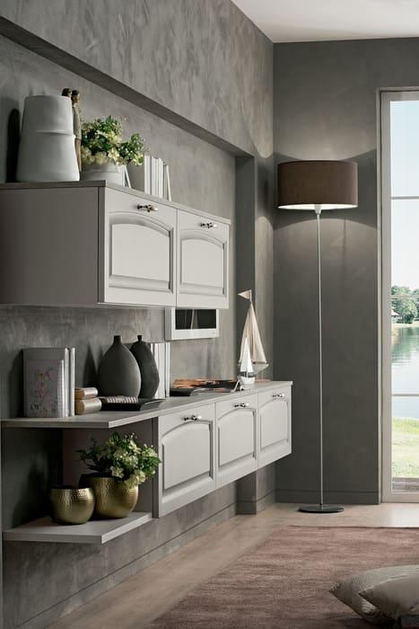 Colombini Casa Cucina Classica Mida mobile living sospeso 123b
