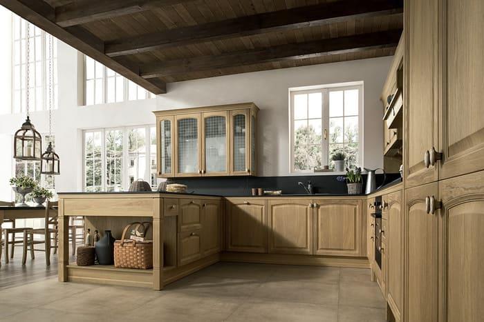 Colombini Casa Cucina Classica Mida rovere crudo 83