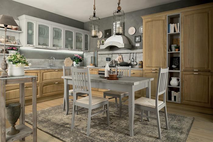 Colombini Casa Cucina Classica Mida rovere crudo e naturale dorian 112 1