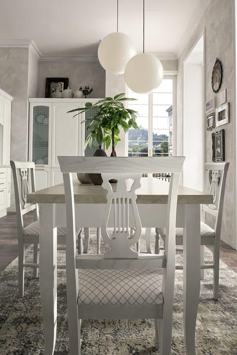 Colombini Casa Cucina Classica Mida sedia in stile classico 38a