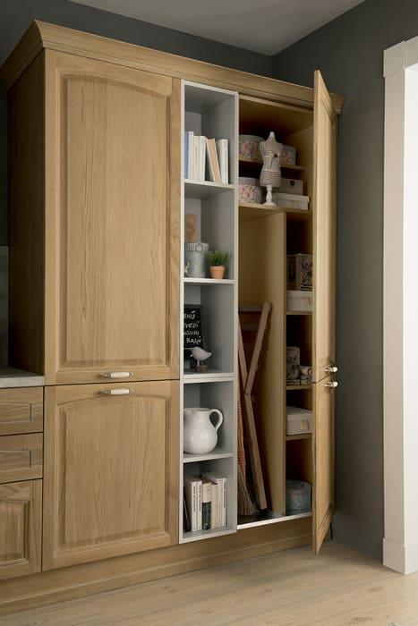 Colombini Casa Cucina Classica Mida sportelli ripartiti interno 118a