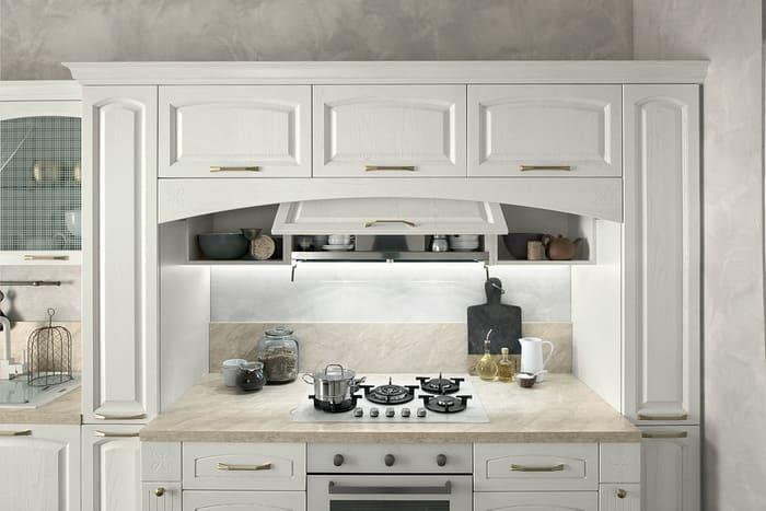 Colombini Casa Cucina Classica Mida sportello nascondi cappa aspirazione 29c