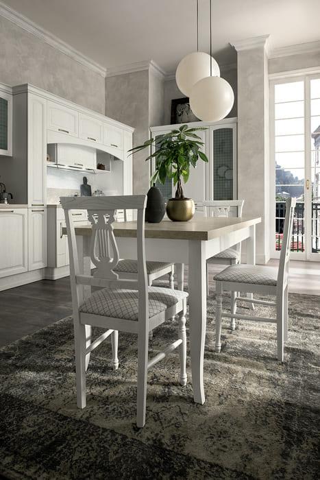Colombini Casa Cucina Classica Mida tavolo abbinato 39