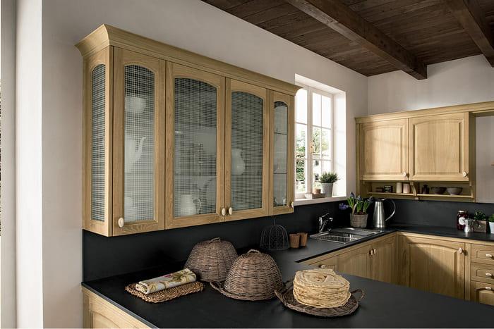 Colombini Casa Cucina Classica Mida vetri lavorati 85