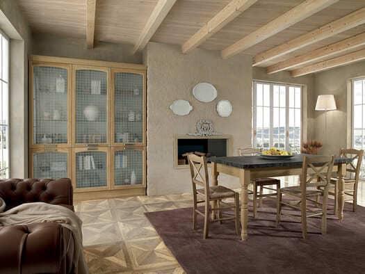 Colombini Casa Cucina Classica Mida vetrina coordinata 74