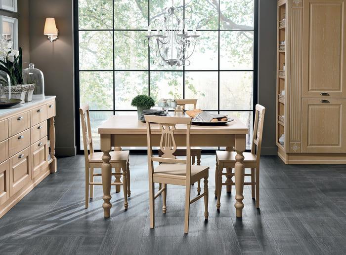 Colombini Casa Cucina Classica Opera2 tavolo sedie 58