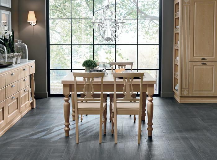 Colombini Casa Cucina Classica Opera2 tavolo sedie 59a