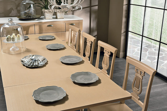 Colombini Casa Cucina Classica Opera2 tavolo sedie 59c