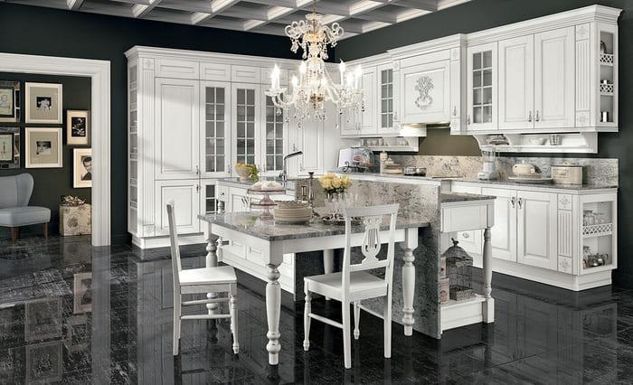 Colombini Casa Cucina Classica Opera4 composizione tipo 71b