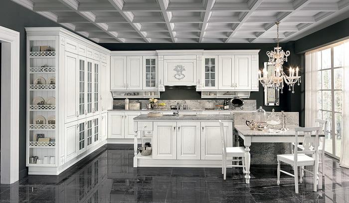 Colombini Casa Cucina Classica Opera4 composizione tipo 72