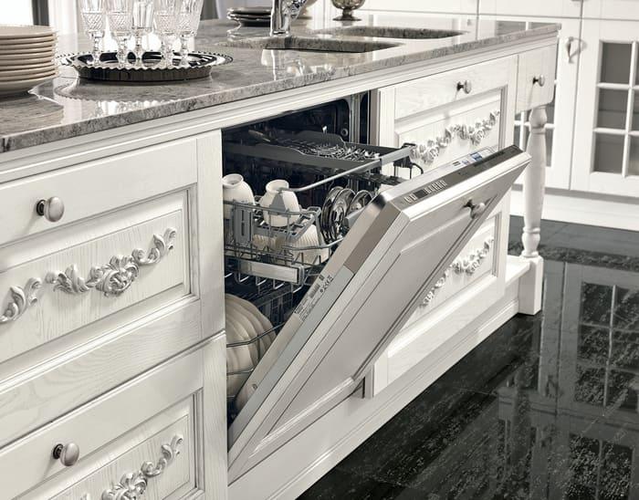 Colombini Casa Cucina Classica Opera4 lavastoviglie 77c