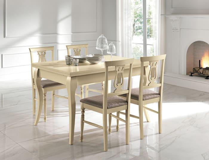 Colombini Casa Cucina Classica Opera5 sedia tavolo 102b