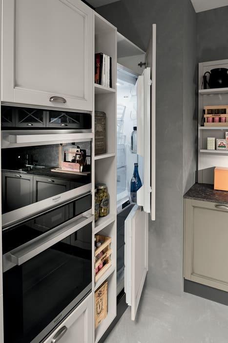 Colombini Casa Cucina Classica Sinfonia ante per frigorifero 100b