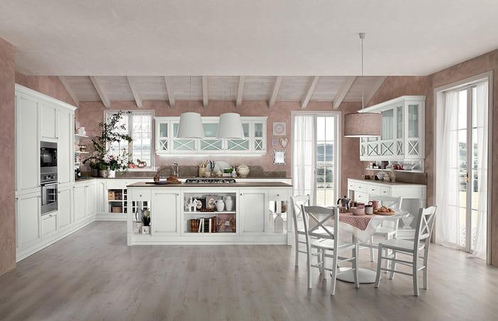 Colombini Casa Cucina Classica Sinfonia bianco anticato 58 59