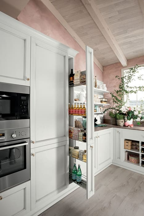 Colombini Casa Cucina Classica Sinfonia dispensa cestelli estraibili 69b