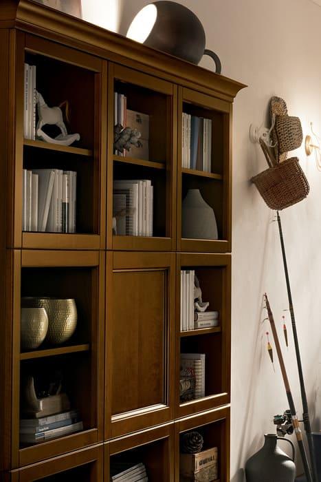 Colombini Casa Cucina Classica Sinfonia mobile legno siena scuro 20b