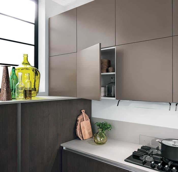 Colombini Casa Cucina Moderna Essenza ante laccate opaco 54B