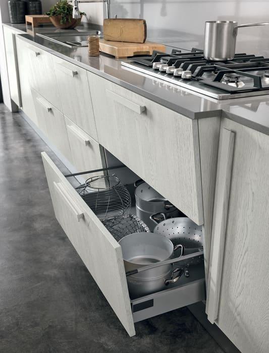Colombini Casa Cucina Moderna Essenza cassetti originali 18A