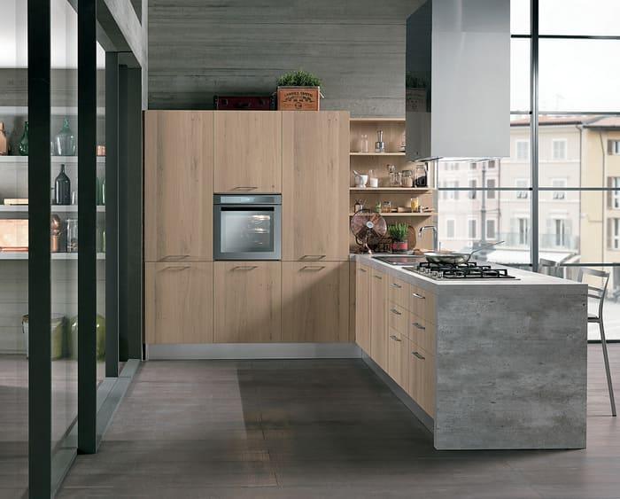 Colombini Casa Cucina Moderna Essenza colonna forno 38