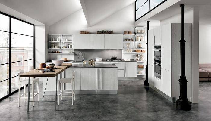Colombini Casa Cucina Moderna Essenza composizione tipo 10 11