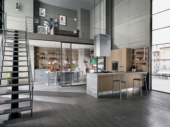 Colombini Casa Cucina Moderna Essenza composizione tipo 28 29