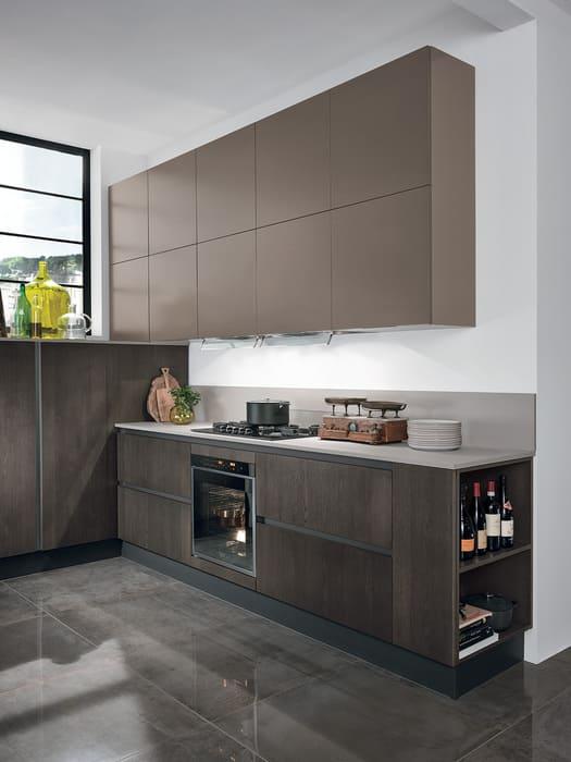 Colombini Casa Cucina Moderna Essenza coordinata con varie finiture 55