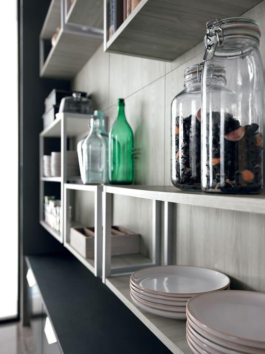 Colombini Casa Cucina Moderna Essenza elementi giorno 90