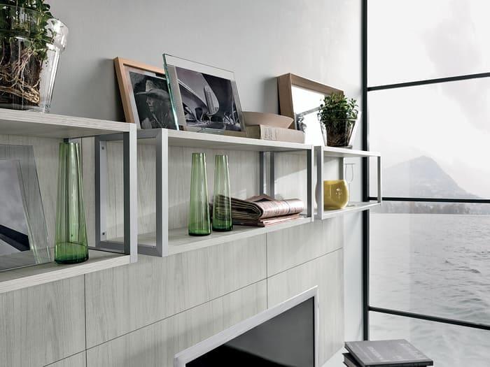 Colombini Casa Cucina Moderna Essenza elementi giorno groove 80