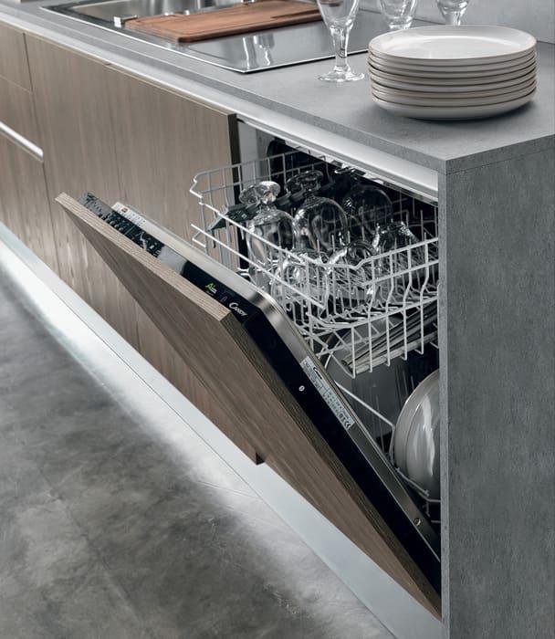 Colombini Casa Cucina Moderna Essenza lavastoviglie integrata 113B