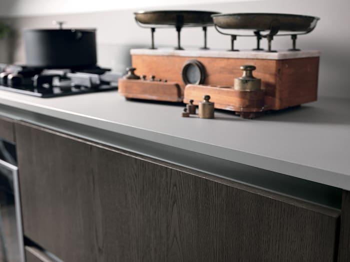 Colombini Casa Cucina Moderna Essenza maniglia a gola 49A