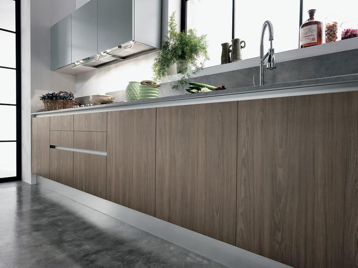 Colombini Casa Cucina Moderna Essenza maniglia invisibile 109B