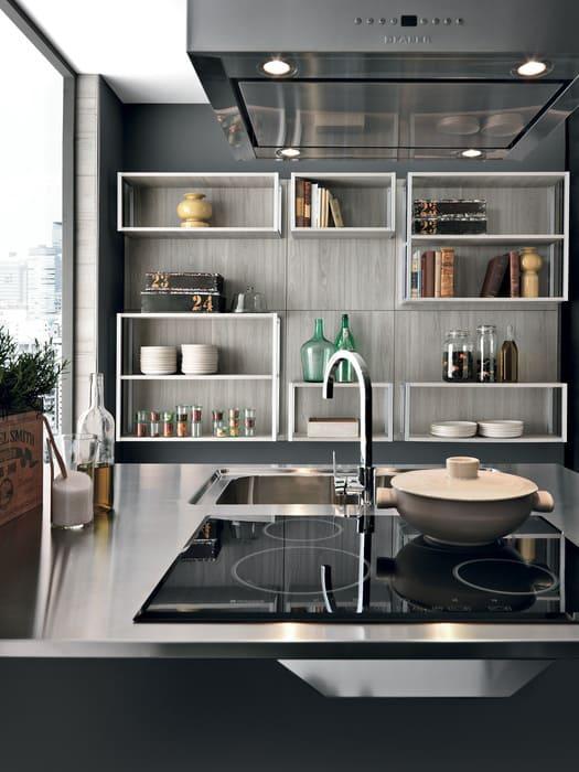 Colombini Casa Cucina Moderna Essenza piano cottura ad induzione 92