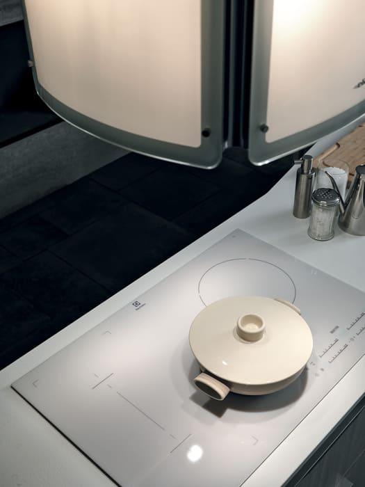 Colombini Casa Cucina Moderna Essenza piano induzione bianco 71B