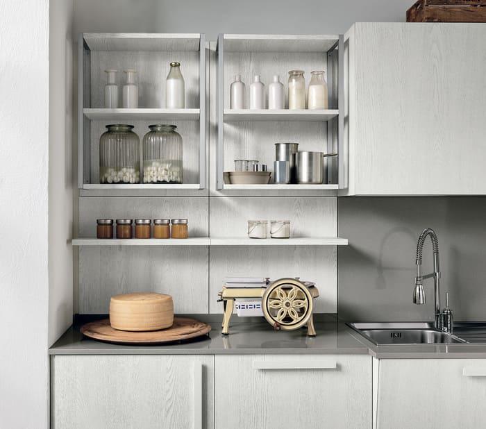 Colombini Casa Cucina Moderna Essenza scaffali giorno 15B