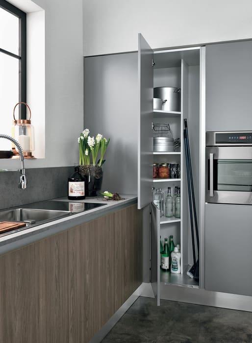 Colombini Casa Cucina Moderna Essenza sportelli funzionali 111A