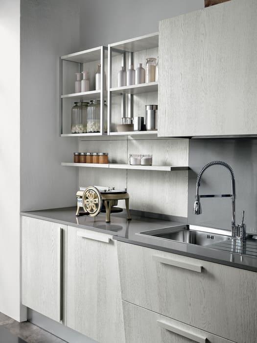 Colombini Casa Cucina Moderna Essenza sportelli grigi 21