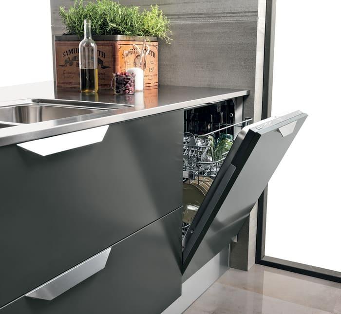 Colombini Casa Cucina Moderna Essenza sportello lavastoviglie 95B