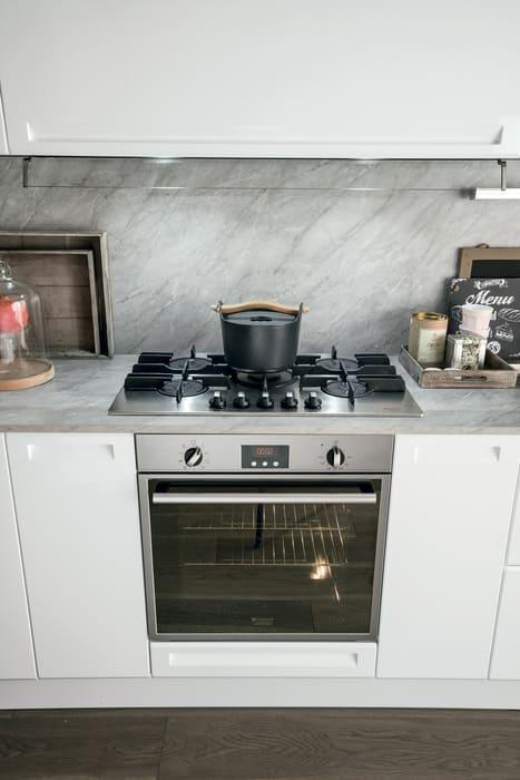 Colombini Casa Cucina Moderna Isla angolo fuochi moderno 85a