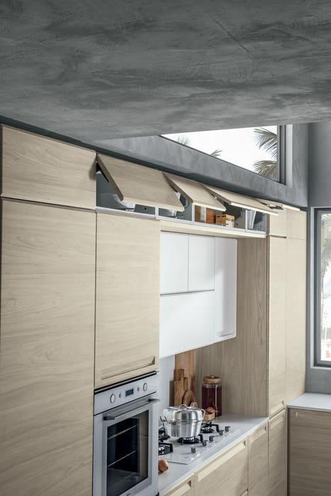 Colombini Casa Cucina Moderna Isla ante vasistas 52a