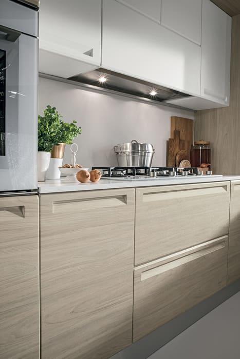 Colombini Casa Cucina Moderna Isla cappa nascosta 51