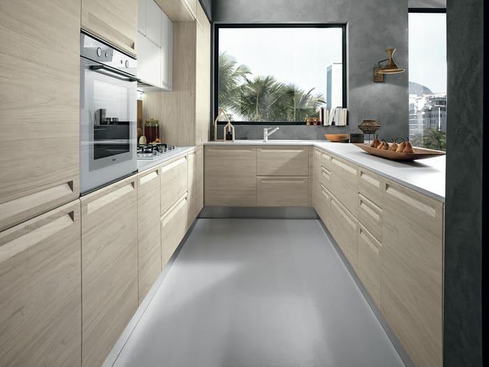 Colombini Casa Cucina Moderna Isla colore versatile 48