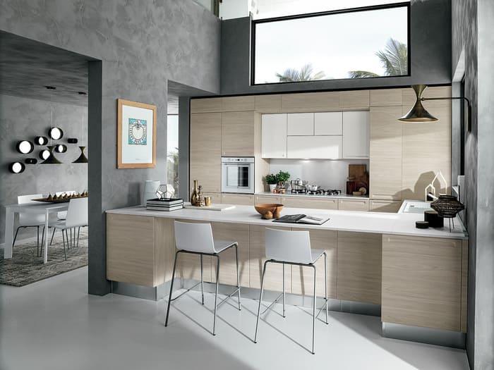 Colombini Casa Cucina Moderna Isla composizione tipo 42 43